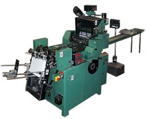 envelope printing press