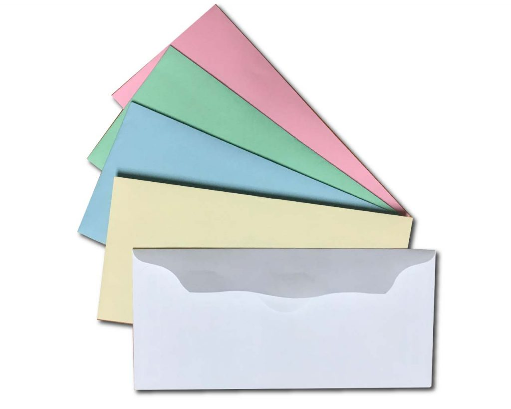 Color Church Offering Envelopes