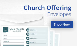 Printed Church Offering Envelopes