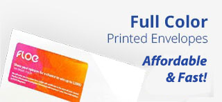 Full Color Printed Envelopes
