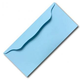 Blue Church Offering Envelope