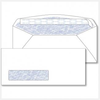 Envelope Printing No. 10 Window Peel n Seal Security Tint