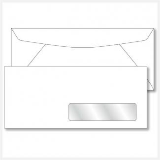 Envelope Printing No. 10 Right Hand Window